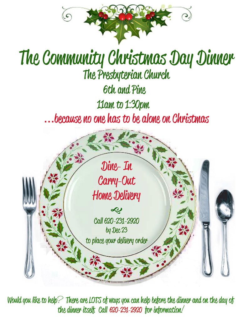Church Ladies Luncheon Clipart Community Christmas Day Dinner