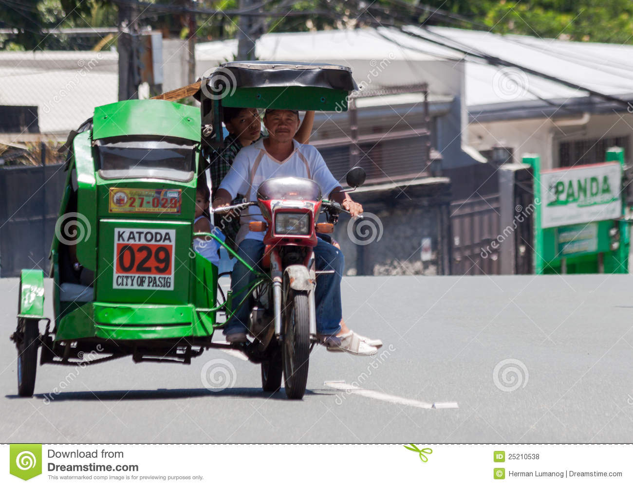Common Transportation Method In The Urban Places In Manila Republic