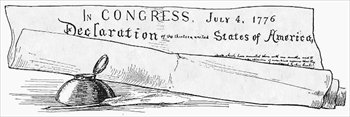 Declaration Of Independence Scroll Clipart Declaration Of Independence