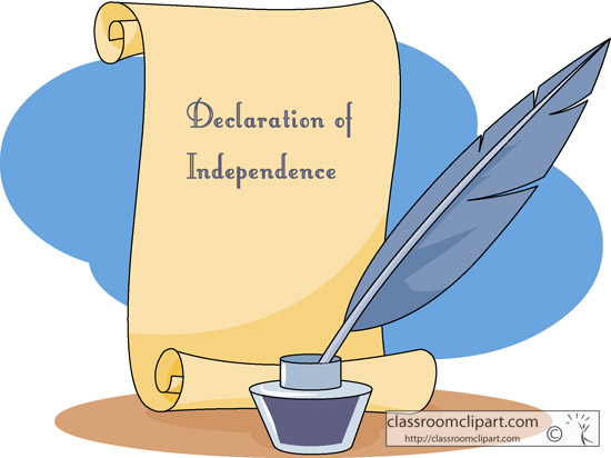 Declaration Of Independence Clipart - Clipart Suggest