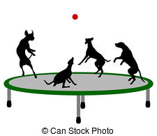 Trampoline Illustrations And Clip Art  545 Trampoline Royalty Free