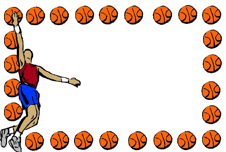 Basketball Border For Microsoft Word Clipart Panda Free Clipart