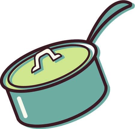 Cooking Pot Black And White Clipart - Clipart Kid