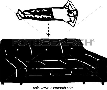 Clipart Of Sofa Sofa   Search Clip Art Illustration Murals Drawings