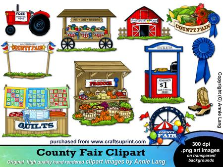County Fair Clipart   Designer Resources