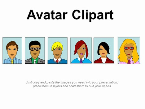 Fun Template Where You Can Design Your Own Avatar Using The Various