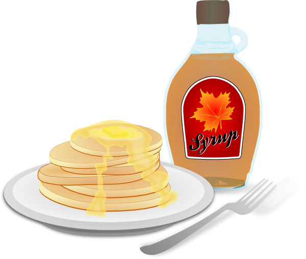 Gallery For   Pancake Syrup Bottle Clip Art