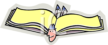 Royalty Free Books Clip Art Business Clipart