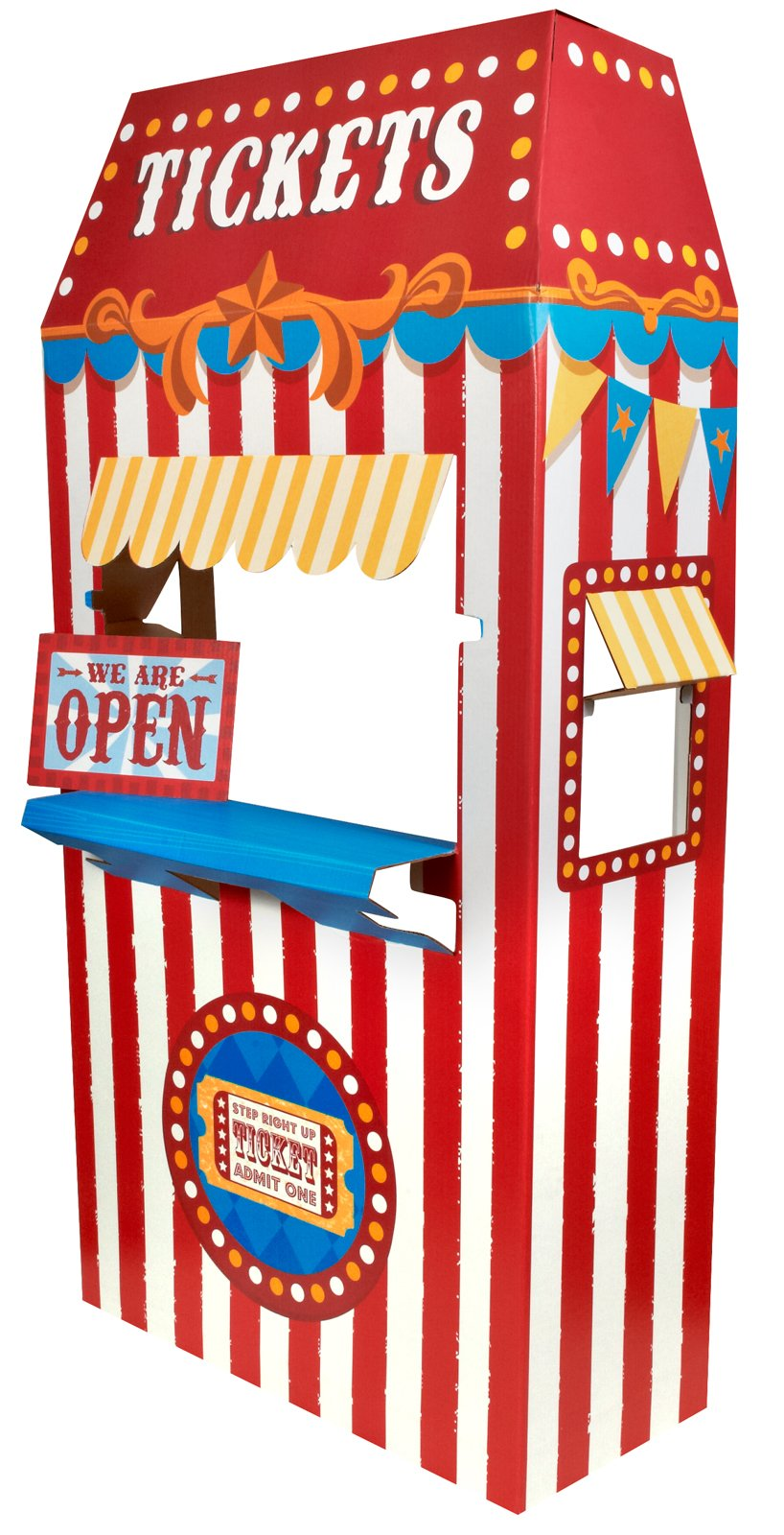 Ticket Booth Cardboard Stand   Birthdayexpress Com