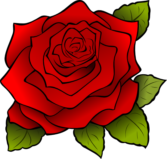 You Can Use This Nice Red Rose Clip Art On Your Valentine S Day