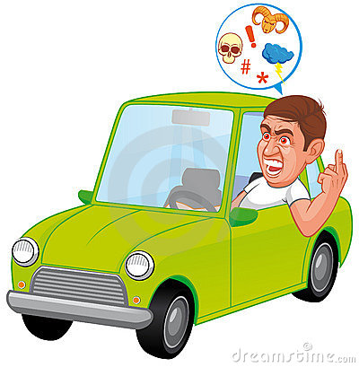 Angry Driver Clipart Furious Driver 14657006 Jpg