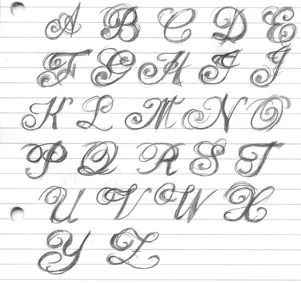 fancy lettering by artitek free images at clker com vector clip