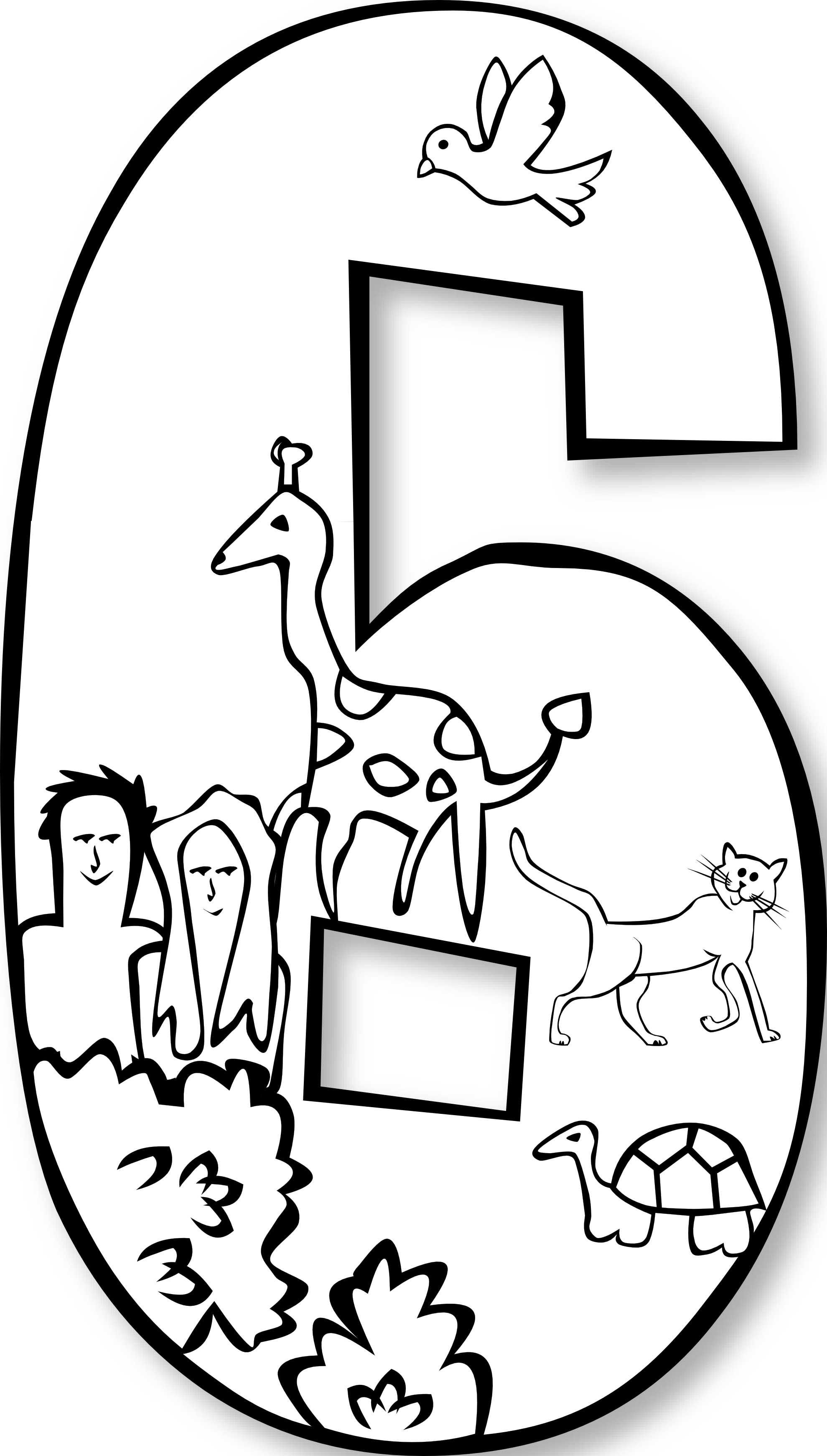 Days of Creation Coloring Pages  MINISTRYTOCHILDREN