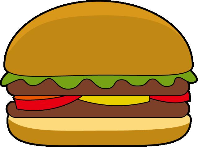 Hamburger Cartoon Clipart - Clipart Kid