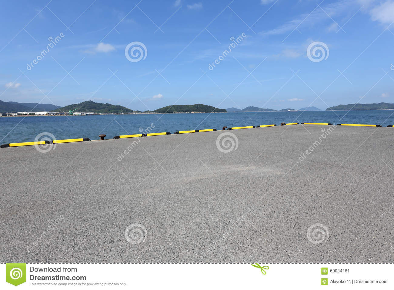 Land And Sea Stock Photo   Image  60034161