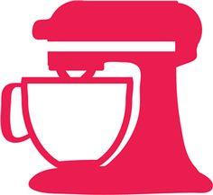 Kitchenaid Mixer Clipart - Clipart Suggest