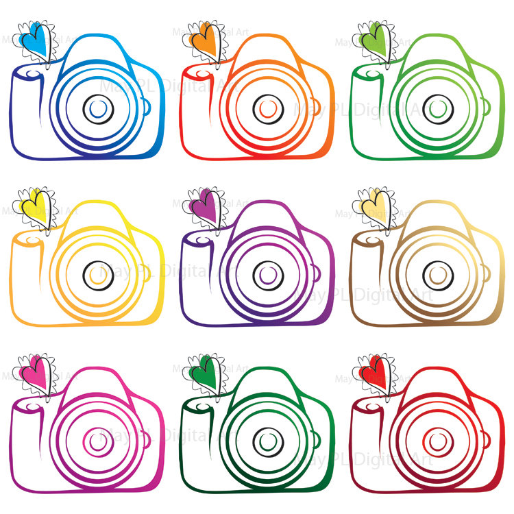 Free Photography Clipart - Clipart Kid