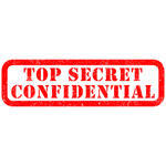 Confidentialconfidential Iconconfidential Rubber Stampconfidential