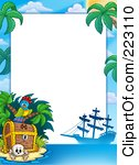 Free  Rf  Pirate Border Clipart Illustrations Vector Graphics  1