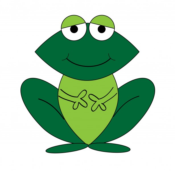 Frog Cartoon Clipart Free Stock Photo   Public Domain Pictures