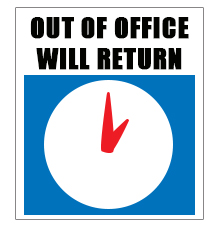 Out Of Office Sign Clipart - Clipart Kid