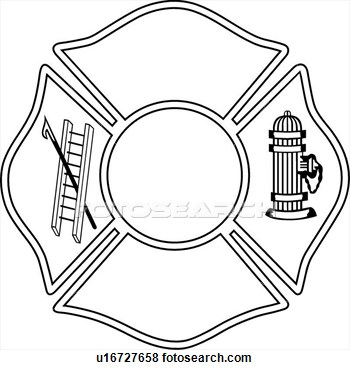 Maltese Cross Outline Clipart - Clipart Kid