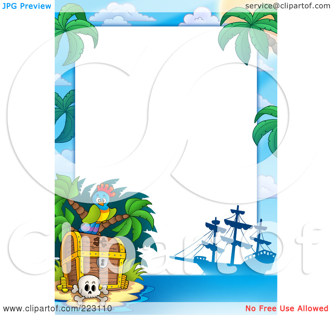 Pirate Border Clipart   Clipart Panda   Free Clipart Images