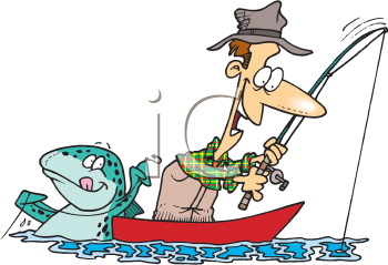 Royalty Free Fisherman Clip Art People Clipart