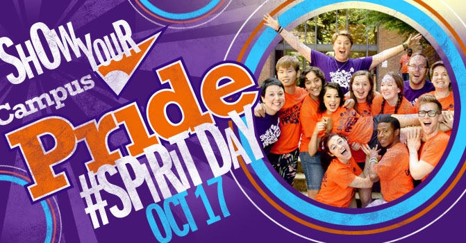 Show Your Campus Pride For Spirit Day   Wear Purple    Campus