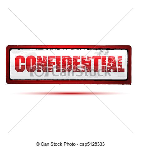 Vectors Of Confidential Stamp   Illustration Of Confidential Stamp On