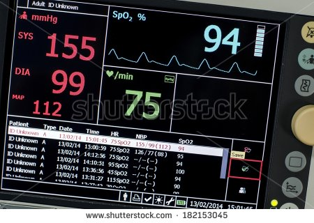 Vital Signs Monitor Stock Photos Images   Pictures   Shutterstock