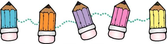 Art Supplies Border Clipart - Clipart Kid