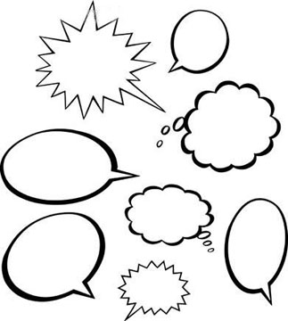 Cartoon Dialogue Bubble Free Cliparts That You Can Download To You