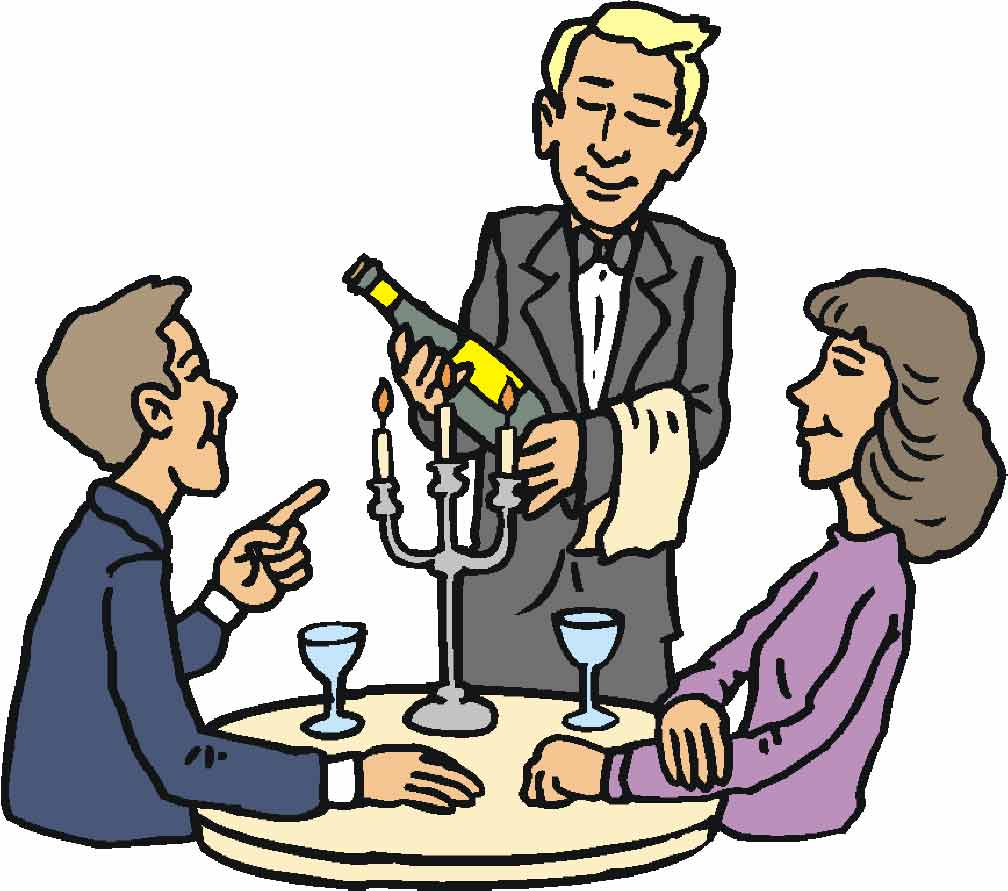 Restaurant Cartoon Clipart
