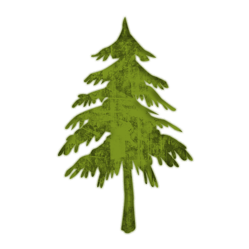 Evergreen Or Fir Tree  Trees  2 Icon  052088   Icons Etc