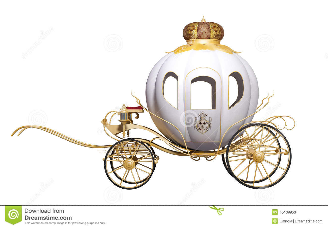 Fairy Tale Royal Carriage Stock Illustration   Image  45138853