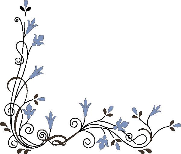 Flower Corner Clipart - Clipart Kid