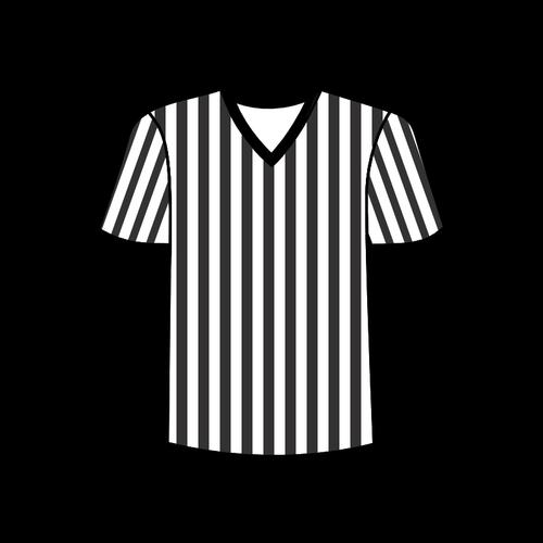 Football Referee Shirt Vector Image   Public Domain Vectors