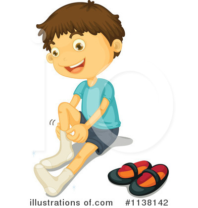Kid Getting Dressed Clipart Boy getting dressed clipart - clipart kid