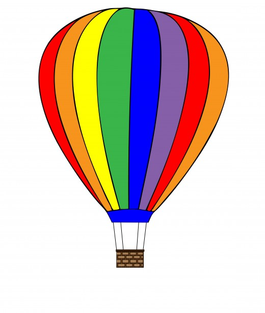 Hot Air Balloon Clipart Free Stock Photo   Public Domain Pictures