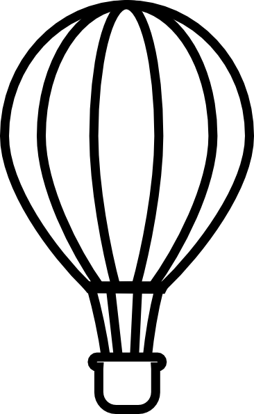 Hot Air Balloon Drawing Template   Clipart Panda   Free Clipart Images