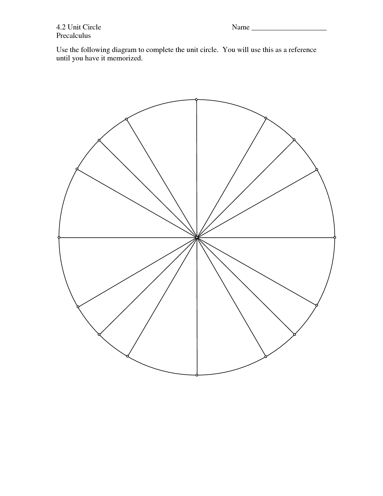 blank unit circle worksheet free worksheets library download and print worksheets free on. Black Bedroom Furniture Sets. Home Design Ideas
