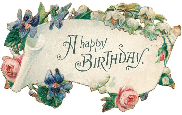 See Our Other Free Vintage Birthday Cards And Birthday Clip Art