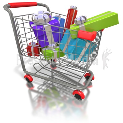 Holiday Shopping Clipart
