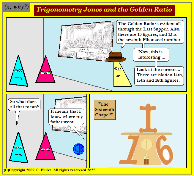 Trigonometry Cartoon Trigonometry Jones And The