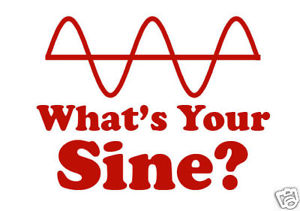 What Your Sine Sign Funny Math