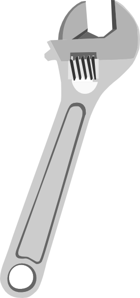 Wrench Clip Art At Clker Com   Vector Clip Art Online Royalty Free