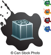 Air Conditioner Eps Vectors
