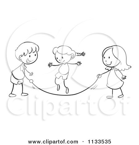 Cartoon Of Black And W...