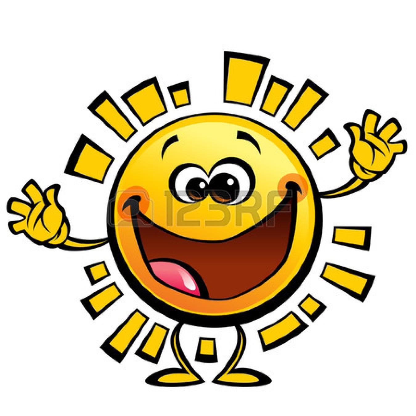 Cute Smiling Sun 26081455 Shining Yellow Cute Smiling Sun Cartoon